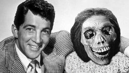 Dean Martin and friend.